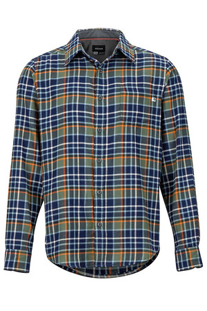 Men's Fairfax Midweight Flannel Long-Sleeve Shirt 44550